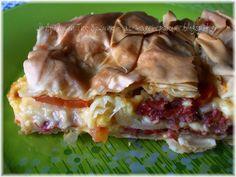 Πίτα Καισαρείας ή Παστουρμαδόπιτα!