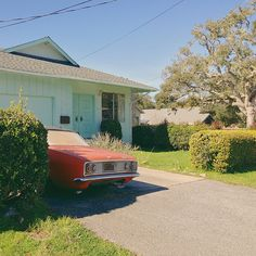 I dream of suburbia. The dream has ended. Monterey, CA. | Trinity's house