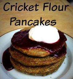 perfect pancakes for any weekend made with cricket flour to give your family the protein boost they need www.entomofarms.com
