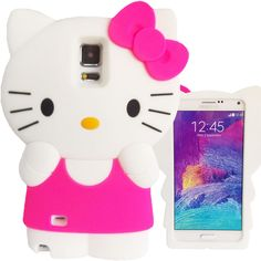 3D Hello Kitty Case for iPhone 6 6S 6 Plus 7 Galaxy S5 S6 S7 Note 3 4 5 iPod 5 6 #UnbrandedGeneric