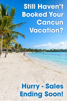 Have you booked your all-inclusive Cancun vacation yet? Book It today with BookIt.com!