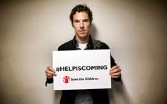 "THE TELEGRAPH (September 10, 2015) ~ Benedict Cumberbatch delivers the on-camera introduction speech for Save The Children's ""Help is Coming"" music video to benefit refugees. [Article and 5:23 Video]"