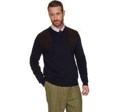 Sports V Neck-Knitwear-Navy-FRONT-MKN0764NY91.jpg