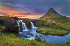 Kirkjufell evening by Dylan Toh  & Marianne Lim on 500px