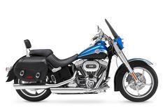 2010 Harley-Davidson CVO Motorcycle Buyer's Guide: CVO Softail (Blue & Silver)