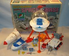 Billy Blastoff - I wanted this toy SO much. My brother got it instead.