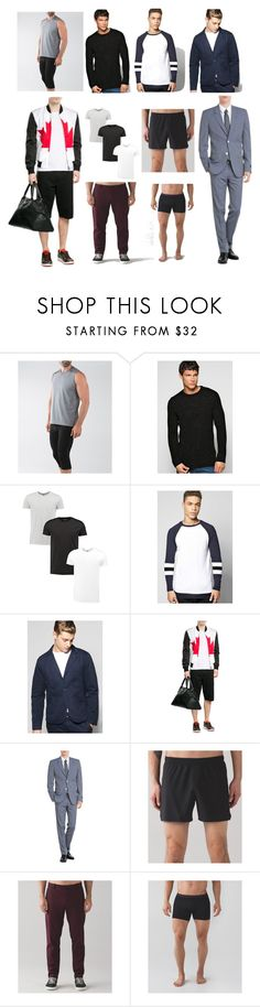 """""""Top Men's Wear In 2017"""" by cate-jennifer ❤ liked on Polyvore featuring lululemon, Boohoo, McQ by Alexander McQueen, Marc Jacobs, vintage, men's fashion and menswear"""