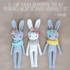 ✖es gibt kaum jemanden, der im Frühling nicht schwer verknallt ist✖ #Quote #bambi #frühlingsgefühle  #hopplibobbli #babygirl #häkelnfürsbaby #geburtsgeschenk #häkeldinge #babygeschenk #häkelliebe #babystuff #handmade #Baby #Geburt #handgemacht #handmadewithlove #crochet #hasenrassel #häkelhase #madewithlove #geschenkefürbabys #mama2017 #baby2017 #schwanger2017 #häkeln #amigurumi #crochetaddict #hochdiehändewochenende #dawandashop #kleinerfeinerfeed