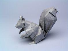 """Squirrel, opus 346"" by Robert Lang"