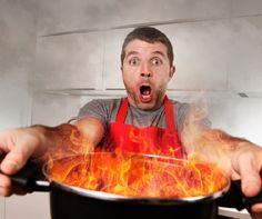 Leégett, megpirult, lesült az étel