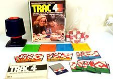 VINTAGE Trac 4 Lakeside board game 1970-1982 FULLY FUNCTIONAL PARTS ALL INCLUDED