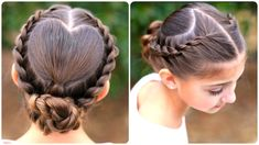 Rope-Braided Heart | Valentine's Day Hairstyles