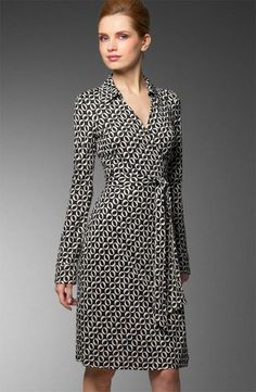 Dresses for Work - Wrap dresses are easy and chic, I mostly wear with boots!