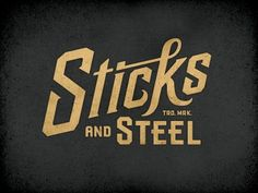 Another INCREDIBLE logo/mark from Richie Stewart. This guy is my idol.