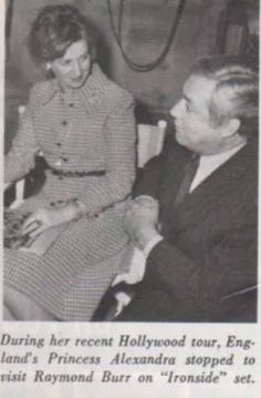 Raymond Burr and his life partner Robert Benevides ...