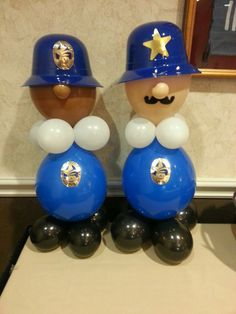 Calling all Units. Police Retirement Party, Police Party Theme, Police Birthday Cakes, Cop Party, Teen Halloween Party, Fireman Party, 6th Birthday Parties, Babyshower, Balloon Decorations