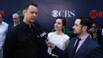 TCA Summer Press Tour 2015 - Watch Colin Hanks and Zoe Lister-Jones' Red Carpet Interview