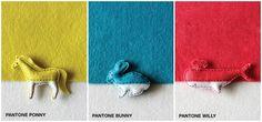 pantone animals