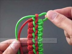 How to Make the Double-Ripcord Utility Strap (DRUS) by TIAT [Image Instructions]