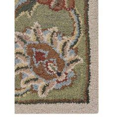 Get My Rugs Hand-Tufted Beige/Green Area Rug Rug Size: 5' x 8'