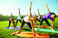 5 Health Benefits of Yoga. Yoga increases flexibility and reduces stress, but the practice can do more than help you twist your body into pretzel shapes and find inner peace. These hidden benefits will help you in the kitchen, office and bedroom. Yoga Nidra, Vinyasa Yoga, Oponopono Mantra, Hypothyroidism Exercise, Fitness Del Yoga, Stage Yoga, Health And Wellness, Health Fitness, Group Fitness