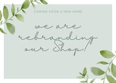 We are excited to announce that our Shop will have a NEW name very soon! *** Printhousedesign will be replacing 🖤Flymeawaycreations In February everything should be switched over with our new links , but for now you can still stop by Flymeawaycreations.com Us Shop, New Names, February, Shopping