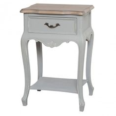 Charline 1 Drawer Bedside Table One Allium Way 3 Drawer Bedside Table, Bedside Cabinet, Nightstand, Bedside Tables, Cube Side Table, Round Side Table, Shabby Chic Style, Shabby Chic Decor, Hill Interiors