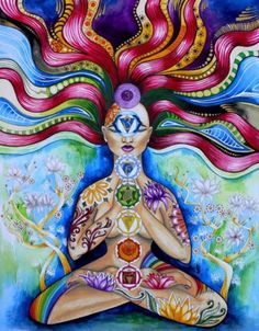 Looking for Kundalini Yoga in Houston? Come to Yoga Central. We teach Kundalini Yoga and meditation as taught by Yogi Bhajan & are associated with Yoga Kundalini, Yoga Meditation, Chakra Art, Chakra Healing, Chakra Painting, Chakra Symbols, Sacral Chakra, Healing Crystals, Heart Chakra