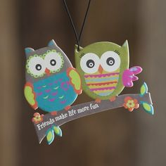 Owl Friends Air Freshener