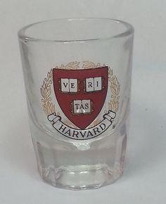Harvard University VERITAS 1.5 oz Shot Glass #collectible visit our ebay store at  http://stores.ebay.com/esquirestore