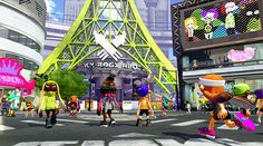 Splatoon: inkopolis plaza