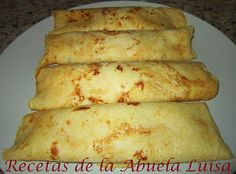 Recetas de la Abuela Luisa: CREPES DE POLLO DEL COCIDO
