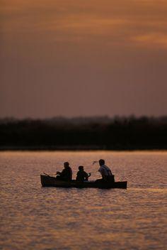 Evening Fishing by Piero Fidanza