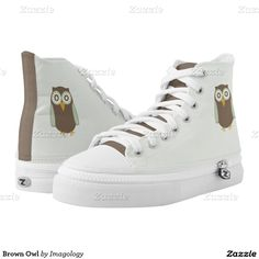 Brown Owl Printed Shoes