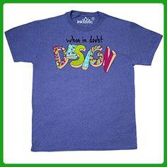 Inktastic - When In Doubt, Design T-Shirt XX-Large Retro Heather Royal - Retro shirts (*Amazon Partner-Link)