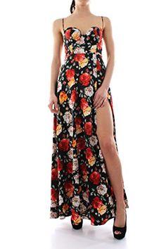3be7e2289 AUSELILY Women Short Sleeve Loose Plain Casual Long Maxi Dresses ...
