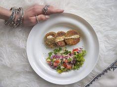 Healthy Falafels (not fried)