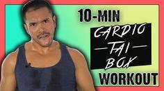 10 Minute Cardio Tai Box Workout :: Calorie Blasting Cardio Kickboxing, ...