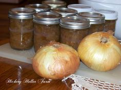 Hickery Holler Farm: Canning Caramelized Onions
