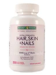 "Having beautiful skin, hair, and nails starts from inside. The natures bounty vitamins can help. The key in these vitamins is biotin, ""Biotin is a coenzyme and a B vitamin and is also known as vitamin H. As a supplement, biotin is sometimes used for diabetes, brittle nails, and other conditions""(WebMD). The nature bounty vitamins … Continue reading Hair,Skin,& Nails multivitamin →"