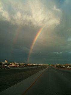 Rainbow in El Paso, TX