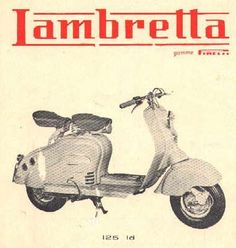 Lambretta old advertising