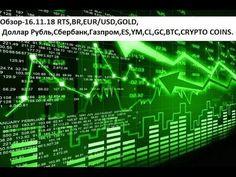a7bdbe5db893 Обзор-16.11.18 RTS,BR,EUR/USD,GOLD, Доллар Рубль,Сбербанк,Газпром,ES,YM,CL,GC,BTC,CRYPTO  COINS