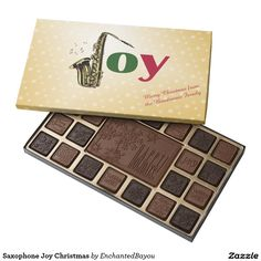 Saxophone Joy Christmas 45 Piece Box Of Chocolates