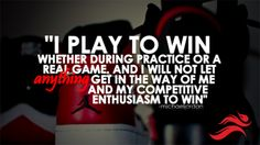 I need to remember this when I'll on the court.