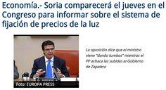 WEBSEGUR.com: SORIA, UN MINISTRO ESTÚPIDO E INÚTIL