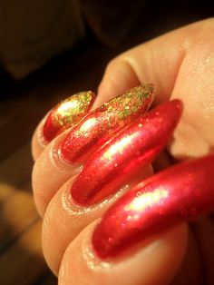 Red polish or bad polish?: Red challenge - Kimmy's goin' to The Show !!!!