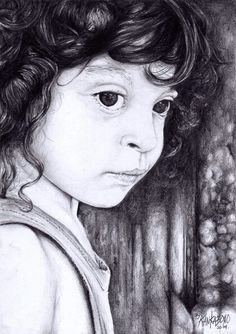 Portrait of Kamil... A Kid from France