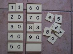 Salam alaykoum, Bonjour, Comme je vous en avais parlé dans un précédent article, j'arrive au système décimal avec Younous mais sans matériel hormis nos chers pions en verre. Younous sait compter jusqu'à trente mais écrit les nombres jusqu'à 13. C'est...