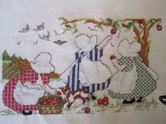 Sunbonnet Sue Counted Cross-stitch